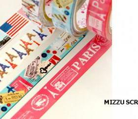 Cute Washi tape 4pcs