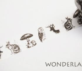 10m Washi Tape - Wonderland