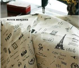 0.5 Yard Paris Cute
